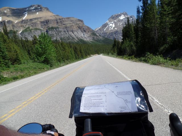 Moseying along to Lake Louise